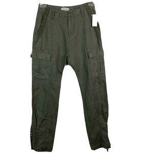 Joie Telutci Pants Color Fatigue 100% Linen